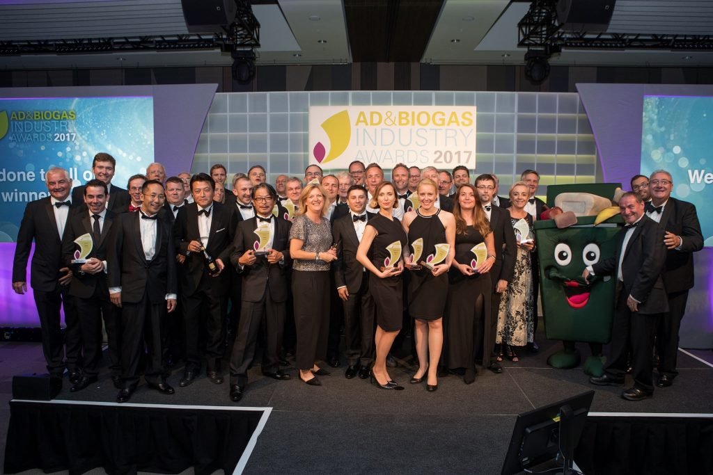 UK AD and World Biogas Expo 2019   PRESS RELEASE: Shortlist